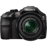 Sony alpha α3000 20.1 Megapixel Mirrorless Camera (Body with Lens Kit) - 18 mm - 55 mm - Black ILCE3000KB