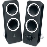 Logitech 2.0 Speaker System - Midnight Black 980-000800