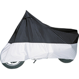 Classic Accessories Motorcycle Cover, Black and Silver