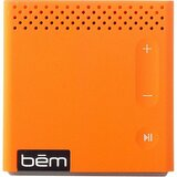 Bem Speaker System - 3 W RMS - Wireless Speaker(s) - Orange HL2022D