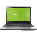"Acer Aspire E1-470-33216G75Dnss 14"" LED Notebook - Intel Core i3 i3-3217U 1.80 GHz - Silver NX.MH3AA.001"