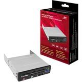 Vantec USB 3.0 Multi-Memory Internal Card Reader with USB 3.0, eSATA and Audio Ports UGT-CR961