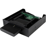 "StarTech.com 5.25"" USM Storage Bay with 2.5"" SATA USM / USB 3.0 Hard Drive Enclosure S2510U33RUSM"