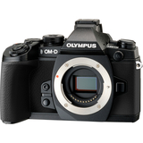 Olympus OM-D E-M1 16.3 Megapixel Mirrorless Camera Body Only (Body Only) - Black V207010BU000