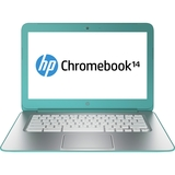 "HP Chromebook 14-q000 14-q020nr 14"" LED (BrightView) Notebook - Intel - Celeron 2955U 1.4GHz - Ocean Turquoise F0H00UA#ABA"