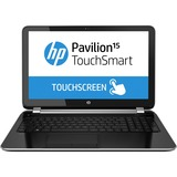 "HP Pavilion TouchSmart 15-n000 15-n040ca 15.6"" Touchscreen LED (BrightView) Notebook - AMD A-Series A4-5000 1.50 GHz - Mineral Black E9G72UA#ABL"