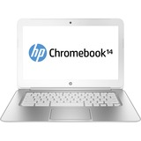 "HP Chromebook 14-q000 14-q050ca 14"" LED (BrightView) Notebook - Intel Celeron 2955U 1.40 GHz - Snow White F2E13UA#ABL"