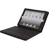 Hip Street Keyboard/Cover Case (Portfolio) for iPad Air - Black IPAD5CS-3N1