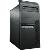 Lenovo ThinkCentre M78 10BR0005US Desktop Computer - AMD A-Series A8-6500B 3.5GHz - Tower - Business Black 10BR0005US