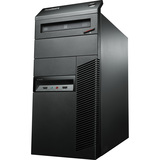 Lenovo ThinkCentre M78 10BR0001US Desktop Computer - AMD A-Series A6-5400B 3.60 GHz - Tower - Business Black 10BR0001US