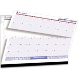 At-A-Glance Perforated Plan-ahead Monthly Desk Pad SKLKFF-00