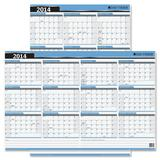 Day-Timer Write-on Wipe-off Reversible Wall Calendar 03744-14