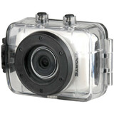 "Vivitar DVR 787HD Digital Camcorder - 2.4"" - Touchscreen LCD - CMOS - Full HD - Silver"