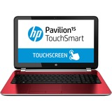 "HP Pavilion TouchSmart 15-n000 15-n041ca 15.6"" Touchscreen LED (BrightView) Notebook - AMD - A-Series A4-5000 1.5GHz - Flyer Red F0Q72UA#ABL"