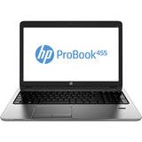 "HP ProBook 455 G1 15.6"" LED Notebook - AMD A-Series A6-5350M 2.90 GHz F2P93UT#ABL"
