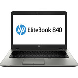 "HP EliteBook 840 G1 14"" LED Notebook - Intel Core i5 i5-4300U 1.90 GHz - Black, Silver F2P27UA#ABA"