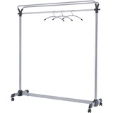 Alba Upper Shelf Mobile Coat Rail