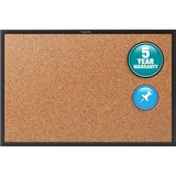 QRT2303B - Quartet® Cork Bulletin Board, 3' x 2'...