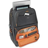"Solo Carrying Case (Backpack) for 17.3"" Notebook, Digital Text Reader, iPad - Black, Orange"