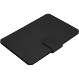 "Aluratek Slim Color Keyboard/Cover Case (Folio) for 10.1"" Tablet - Black"