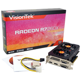 Visiontek Radeon R7 260X Graphic Card - 1100 MHz Core - 2 GB GDDR5 SDRAM - PCI Express 3.0 x16 900650