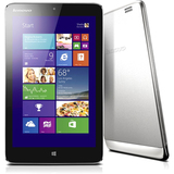 "Lenovo IdeaTab Miix 2 64GB Tablet PC - 8"" - In-plane Switching (IPS) Technology) - Intel - Silver 59393611"