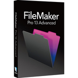 Filemaker Pro v.13.0 Advanced - Complete Product - 1 User HB792LL/A