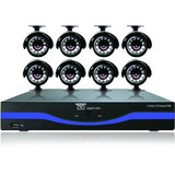 Night Owl 16 Channel with HDMI, 500 GB HDD and 8 x 480 TVL Cameras (30ft NV)