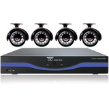 Night Owl 8 Channel 960H DVR with HDMI, 500 GB HDD and 4 x 480 TVL Cameras (30ft NV)