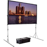 "Da-Lite Fast-Fold Deluxe Manual Projection Screen - 193.4"" - Portable 39313"