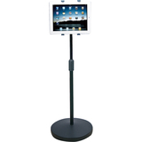 Aidata Sturdy Ipad And Tablet Height Adjustable Floor Stand Via Ergoguys