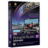 Pinnacle Studio v.17.0 Ultimate - Complete Product - 1 User PNST17ULENAM