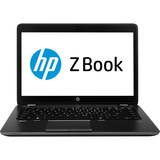 "HP ZBook 14 14"" LED Notebook - Intel - Core i5 i5-4300U 1.9GHz - Graphite F2R98UT#ABA"