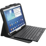 "Kensington KeyFolio Pro K97156US Keyboard/Cover Case (Folio) for 10.1"" Tablet - Black"
