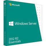 Microsoft Windows Server 2012 R2 Essentials 64-bit - License and Media - 1 Server, 2 CPU, 25 User G3S-00717