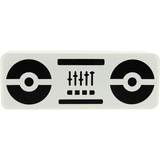 Beewi BBS305 2.0 Speaker System - 5 W RMS - Wireless Speaker(s) - White