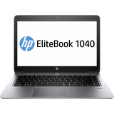"HP EliteBook Folio 1040 G1 14"" LED Ultrabook - Intel - Core i5 i5-4300U 1.9GHz - Platinum F2R69UT#ABA"