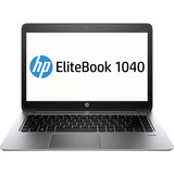 "HP EliteBook Folio 1040 G1 14"" LED Ultrabook - Intel - Core i5 i5-4300U 1.9GHz - Platinum F2R70UT#ABA"