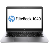 "HP EliteBook Folio 1040 G1 14"" LED Ultrabook - Intel - Core i7 i7-4650U 1.7GHz - Platinum F2R72UT#ABA"