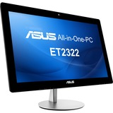 Asus ET2322INTH-04 All-in-One Computer - Intel Core i7 - Desktop - Black, Silver ET2322INTH-04