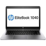 "HP EliteBook Folio 1040 G1 14"" LED Ultrabook - Intel - Core i5 i5-4200U 1.6GHz - Platinum F2R68UT#ABL"
