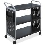 Safco Scoot 3 Shelf Utility Cart