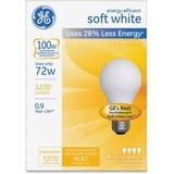 GE Energy-efficient Soft White 72 Watt A19 4-Pack