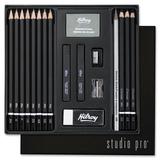 MeadWestvaco Hilroy Studio Pro 18-Piece Artist Starter Kit