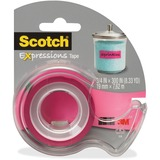 Scotch Expressions Matte Finish Magic Tape C214PNKDES