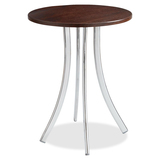 Safco Decori Wood Side Table, Tall 5099MH