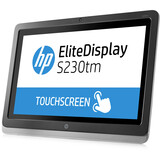 "HP Elite S230tm 23"" LED LCD Touchscreen Monitor - 16:9 - 7 ms E4S03A8#ABA"
