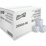 Genuine Joe 2-Ply Standard Bath Tissue Rolls 2550096