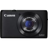 Canon PowerShot S200 2 Megapixel Compact Camera - Black 8408B005