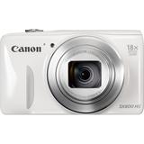 Canon PowerShot SX600 HS 16 Megapixel Compact Camera - White 9341B001